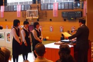 02 中小企業庁長官賞 村雨の待つトキが来る 大阪信愛女学院高等学校