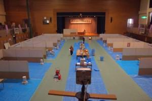 会場設営はほぼ完了 WEBカメラはすでに稼働中!