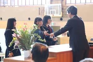 新潟県知事賞 福井県立藤島高等学校